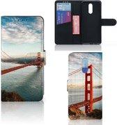 Nokia 3.2 Flip Cover Golden Gate Bridge
