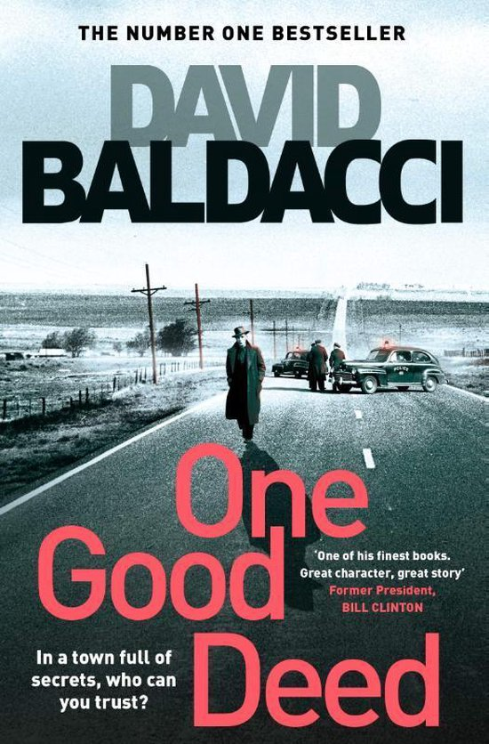 Omslag van One Good Deed Aloysius Archer series