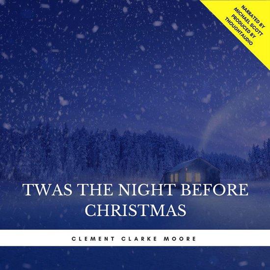 Boek cover Twas the Night Before Christmas van Clement C. Moore (Onbekend)