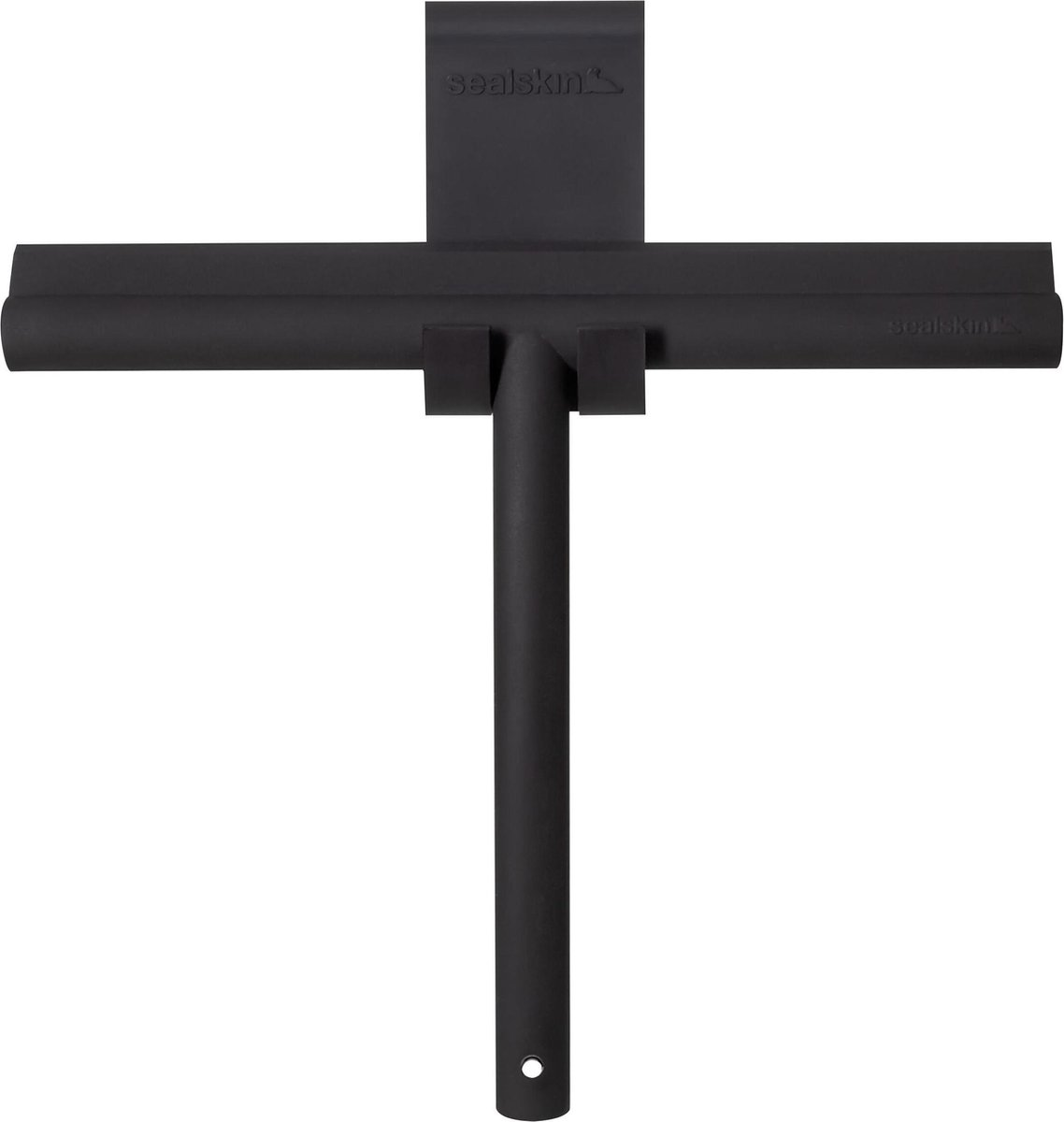 Sealskin Deluxe Raamwisser inclusief flexibele glashaak - Zwart
