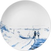 Bord Aan de kust | Heinen Delfts Blauw | Design | Delfts Blauw | Wandbord |Wanddecoratie |