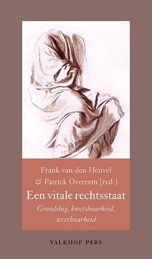 Boek cover Annalen van het Thijmgenootschap 107.2 -   Een vitale rechtsstaat van  (Paperback)