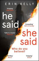 Boek cover He Said/She Said van Erin Kelly