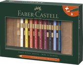 Roletui Faber-Castell A.D. Magnus 18 potloden met penseel