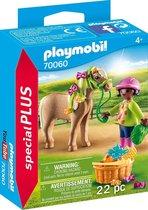 PLAYMOBIL Special Plus Meisje met pony - 70060