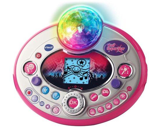 VTech Kidi Superstar Lightshow Roze - Karaokeset