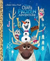 Boek cover Olafs Frozen Adventure van Disney Pixar (Hardcover)
