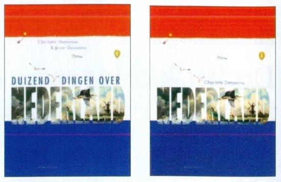 Boek cover Nederland + duizend dingen over Nederland van Charlotte Dematons (Hardcover)