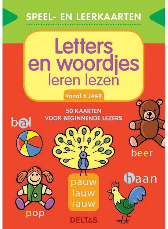 Deltas Educatief Boek Letters En Woordjes Leren Lezen - ZNU