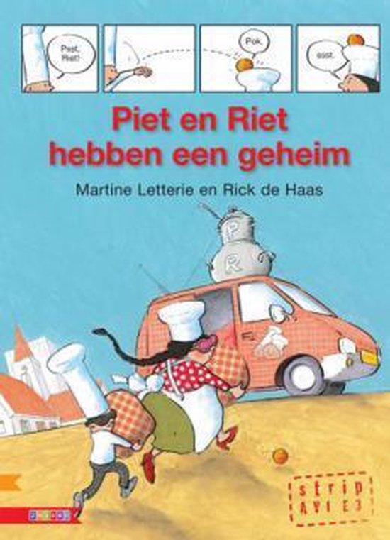 AVI strip - Piet en Riet hebben een geheim - Martine Letterie |