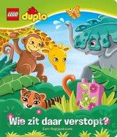Lego Duplo - Wie zit daar verstopt? - Flapjesboek