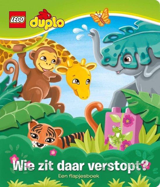 Lego Duplo - Wie zit daar verstopt? - Flapjesboek - LEGO  