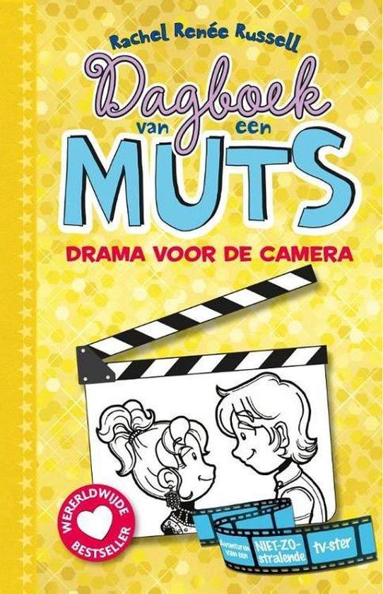 Boekomslag voor Dagboek van een muts 7 - Drama voor de camera
