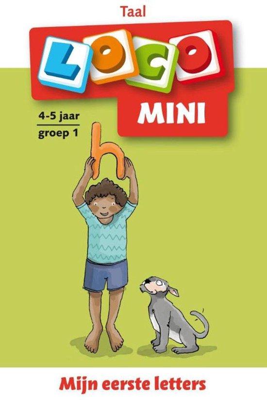 Afbeelding van Loco Mini - Boekje - Mijn eerste letters - 4/5 Jaar - Groep 1 speelgoed