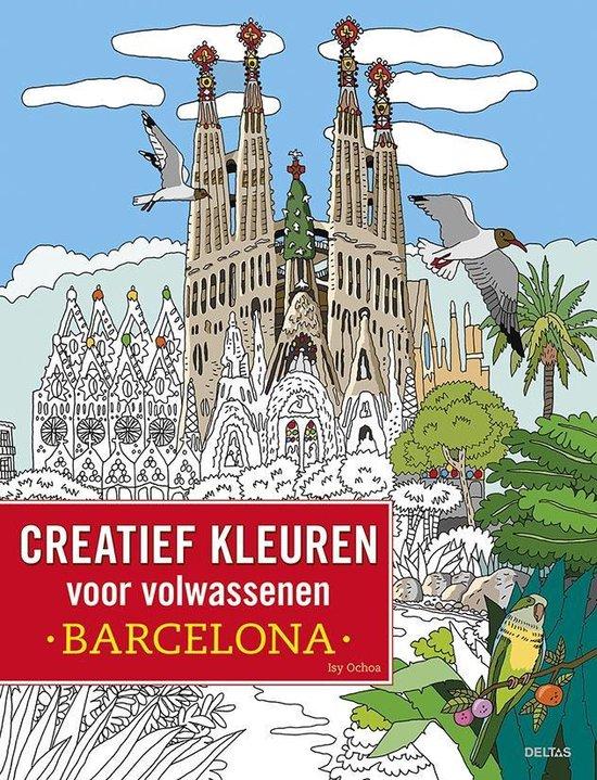 Creatief kleuren voor volwassenen Barcelona - none |