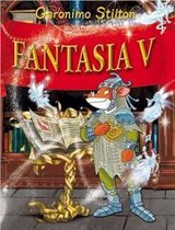 Boek cover Fantasia 5 - Fantasia V van Geronimo Stilton (Hardcover)