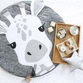 Baby Speelkleed Giraffe – Baby kamer Speelkleed – Baby Speel Mat - diameter 90cm