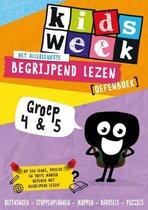 Kidsweek - Het allerleukste begrijpend lezen oefenboek (groep 4 en 5)