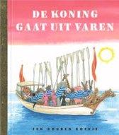 Boekomslag van 'Gouden Boekjes - De koning gaat uit varen'