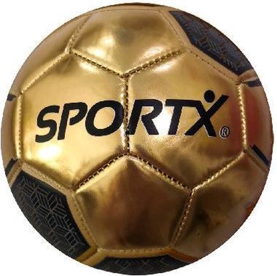 Afbeelding van het spel SportX Mini Voetbal Metallic 2ass 160-180gr.