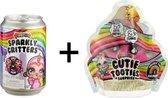 Poopsie Cutie Tooties Surprise Series 1-1A & Poopsie Slime Surprise - Sparkly Critters - Bundelpakket