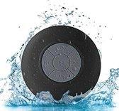 WiseGoods - Premium Waterproof Bluetooth Speaker Met Zuignap - Badkamer & Douche Speaker - Zwart