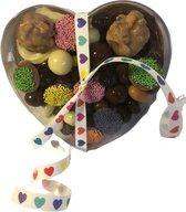 "Chocolade Hart - ""Liefde"" - In cadeauverpakking"