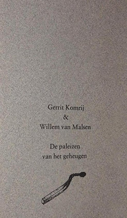 De paleizen van het geheugen - Gerrit Komrij |