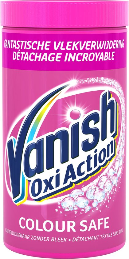 Vanish Oxi Action Colour Safe Base Poeder - Voor Witte & Gekleurde Was - 1,5 kg