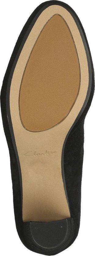 Clarks - Damesschoenen Kendra Sienna D020312 Black Suede Maat 8 y4dif2