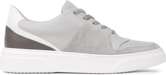 KEA CIME LOW Lt Grey - Leather Plain - 43