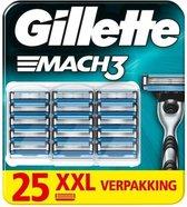 Gillette MACH3 scheermesjes 25 stuks