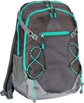 Abbey Backpack - Unisex - antraciet/groen/grijs
