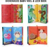 """Tumama® Knisperboekje Eerste Jaar """"Dieren Vachten"""" Boekje Baby Voelboekje - Educatief Speelgoed Kinderen - Voelboek - 1 Kids"""