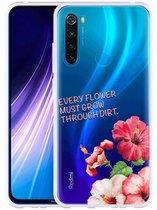 Xiaomi Redmi Note 8 Hoesje Every Flower