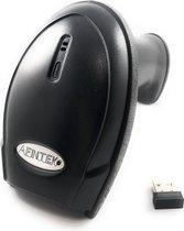 Draadloze barcodescanner 1D barcodes - Bluetooth & 2.4Ghz - 50 meter draadloos