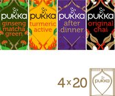 Pukka Day to Night box Biologische thee - 4 x 20 theezakjes