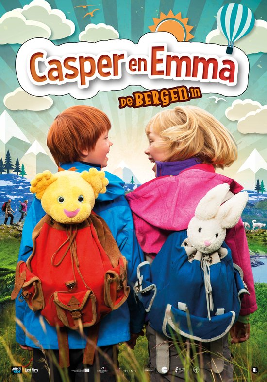 Casper En Emma - De Bergen In - Movie