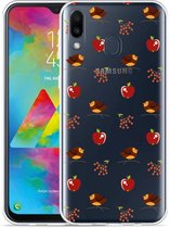 Galaxy M20 Hoesje Apples and Birds