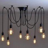 iBella Living - Deluxe Plafond Lamp - 8 Armen - Inclusief 8 lichtbronnen