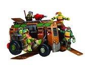 Ninja Turtles Legertruck - voor speelfiguur van 12 cm - Speelgoedvoertuig - Exclusief figuur