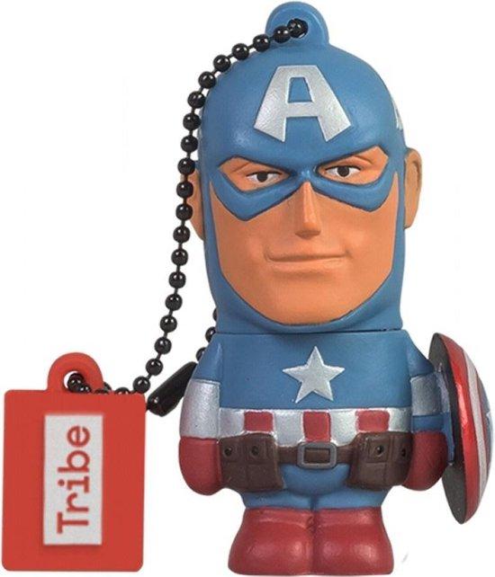Tribe Marvel - Captain America - USB-stick - 16 GB