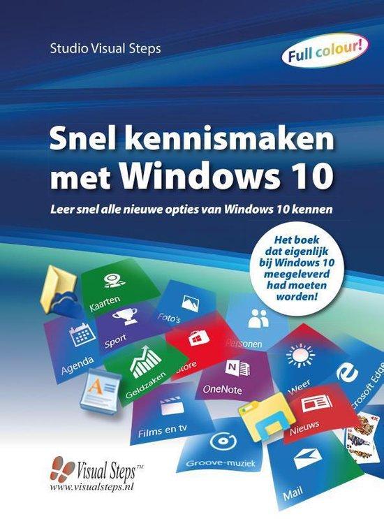 Snel kennismaken met Windows 10 - Studio Visual Steps  