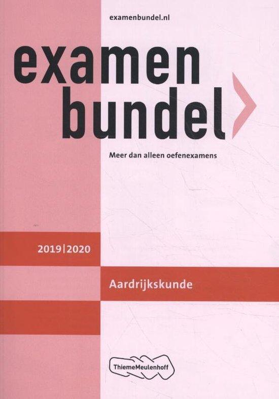 Examenbundel vwo Aardrijkskunde 2019/2020 - H.J.C. Kasbergen  