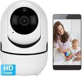 LEAMSIQ® Babyfoon met Camera - Camera Beveiliging - Bewakingscamera - Beweeg en Geluidsdetectie - 2-Weg Spraakfunctie - HD Kwaliteit - Nachtzicht   Nieuw Model 2020