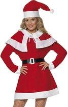 Miss Santa kostuum fleece - Maatkeuze: Maat L