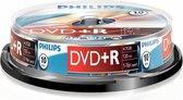 Philips DR4S6B10F - DVD+R - 4,7GB - Speed 16x - Spindle - 10 stuks