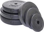 Halterschijf 30 mm Focus Fitness - kunststof - 1 x 1,25 kg