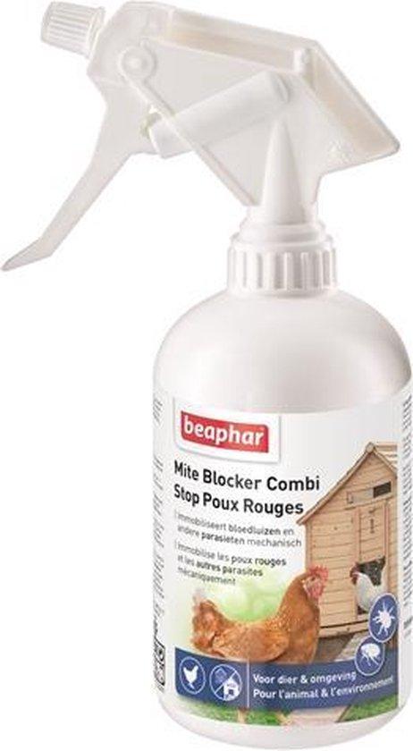 Beaphar Mite Blocker - Anti vlooien en luizenmiddel - 500 ml