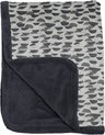 Snoozebaby ledikant deken - 100x150cm - TOG 2.0 - Frost Grey